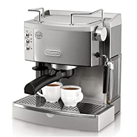 DeLonghi EC702 Stainless Steel Pump Espresso Machine, DeLonghi EC702 Stainless Steel Pump Espresso Machine review, DeLonghi EC702 Stainless Steel Pump Espresso Machine price, DeLonghi EC702 Stainless Steel Pump Espresso Machine specs