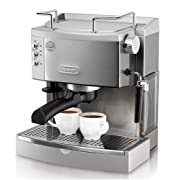 DeLonghi EC702 15-Bar-Pump Espresso Maker, Stainless Reviews