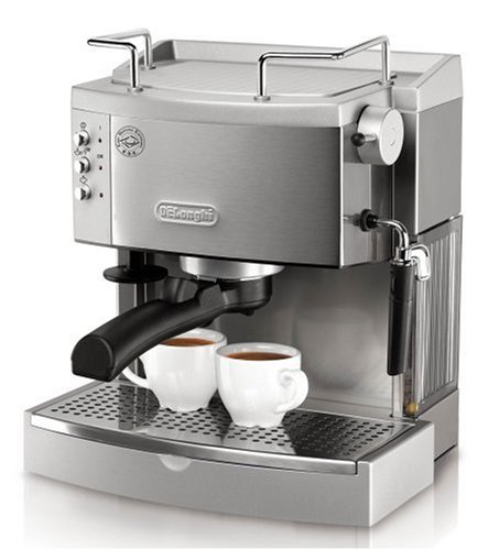 Learn More About DeLonghi EC702 15-Bar-Pump Espresso Maker, Stainless