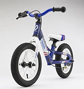 TykesBykes 12 Inch Balance Bike Blue