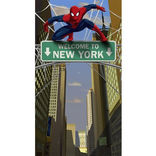 Hallmark - Spider Hero Door Banner - Multi-colored