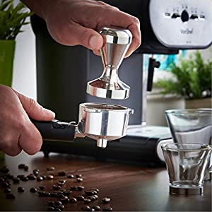 EconoLed Stainless Steel Coffee Tamper Barista Espresso Tamper 51mm Base Coffee Bean Press US Seller from EconoLed