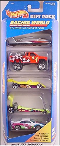 Hot Wheels 1996 Racing World Gift Pack - 1