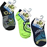Monster University Ankle Sock Size 4-6 (3 packs) F4946