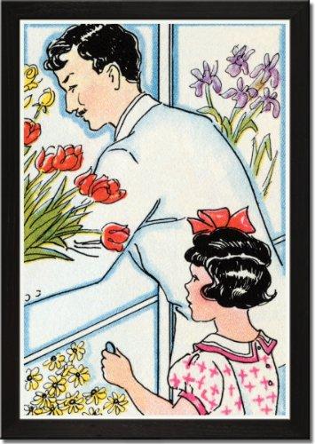Framed Art Poster 20x30, Selecting a Floral Arrangement