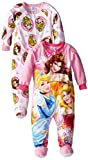 Disney Princess Little Girls' Twofer Microfleece Blanket Sleeper