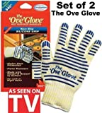 Ove Glove Hot Surface Handler,Oven Mitt (Set of 2)