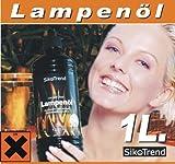 Lampenöl Paraffinöl für Petroleum- und Öllampen (1 x...