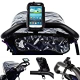 Ultimate Addons Pram Jogger Baby Buggy Handlebar Strap Mount with Tough Waterproof Mount Case for Samsung Galaxy S3 i9300