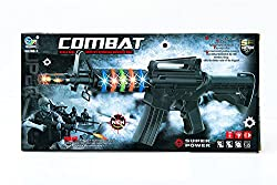 Shopaholic Combat Scale Real Battery Operated Machine Gun - AK788-1