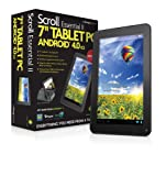 Storage Options 55109 Scroll Essential 2 7 Inch Android 4.0 Ice Cream Sandwich Capacitive Touch Screen Tablet