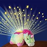 Pillow Pets Dream Lites Rainbow Unicorn Kids Toys, Multi Color