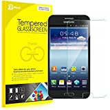 Note 2 Screen Protector, JETech� Premium Tempered Glass Screen Protector Film for Samsung Galaxy Note 2
