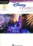 Disney Classics - for Clarinet Instrumental Play-Along Pack