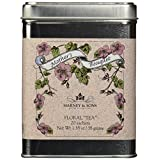 1 X Harney and Sons Fine Teas Mother's Bouquet in Tin, 20 Sachets
