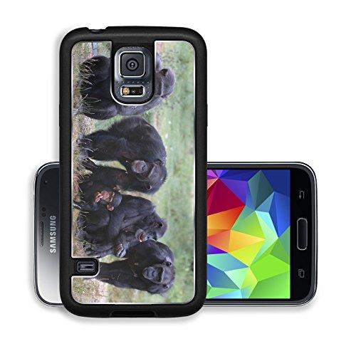 Luxlady Premium Samsung Galaxy S5 Aluminium Snap Case When Monkey s Go Bad IMAGE ID 221188