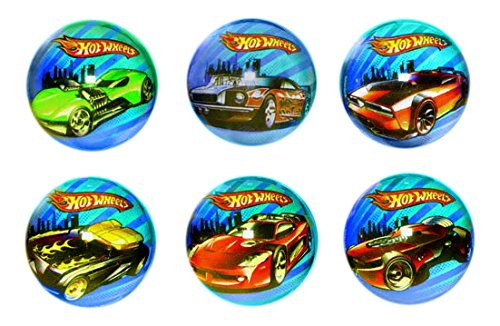 Hot Wheels Speed City Bounce Ball Party Favors, Multi - 1