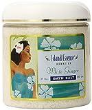 Island Essence Bath Salts White Ginger