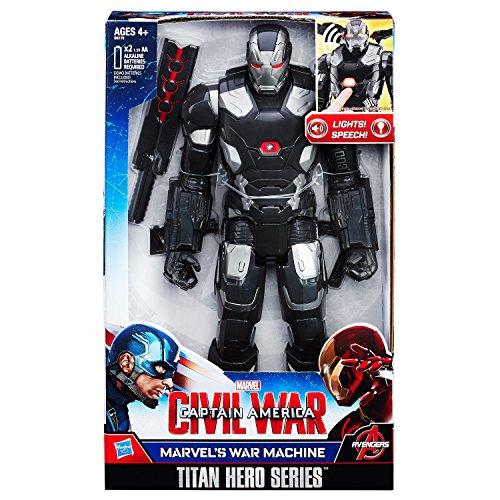 Hasbro - Captain America 3 Titan Hero Elektronic Figura Di Azione 2016 War Machine 30 Cm