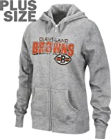 Cleveland Browns Classic III Zip Hoodie Women's Plus Size from VF Imagewear