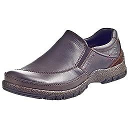 Bugatti Men\'s Brown Leder Uniform Dress Shoes 44