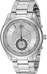 Michael Kors Watches Aiden Chronograph Leather Watch