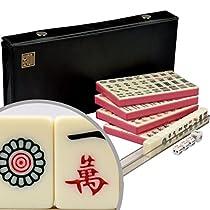 Chinese Mahjong (Mahjongg, Mah Jongg, Mah-Jongg, Majiang) Travel Game Set -