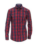 Venti Camisa Hombre (Azul / Rojo)
