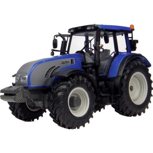 Universal Hobbies 4079 - Sammlermodell Valtra T Serie metallic 1/32 aus Metall, blau