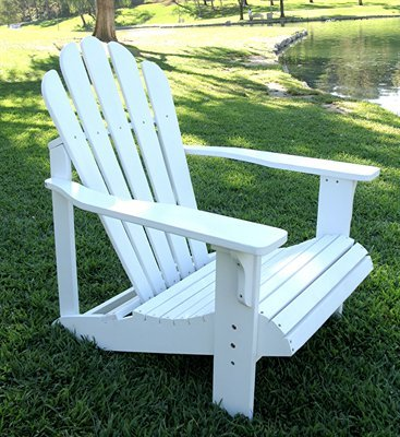 Westport Adirondack Chair - White (White) (36