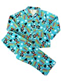 Winter Disney Mickey Mouse Boys Pyjamas Warm Wincey Pyjama Set