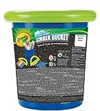 Crayola 03-5104-E-100 - Cubo de tizas de exterior, color azul