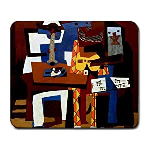 Pablo Picasso Three Musicians Painting Mouse Pad