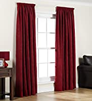 Hopsack Weave Pencil Pleat Curtains