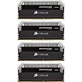 Corsair Dominator Platinum 16GB (4x4GB) DDR4 DRAM 3200MHz (PC4 25600) C16 Memory Kit