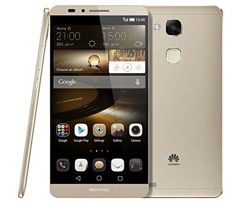 【SIMフリー】 Huawei ファーウェイ Ascend Mate7 Dual LTE MT7-TL10 【dual デュアルSIM】 [並行輸入品] (32GB, ゴールド)