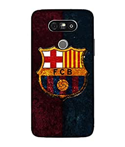 chnno Fcb 3D Printed Back cover for LG G5 -Multicolor