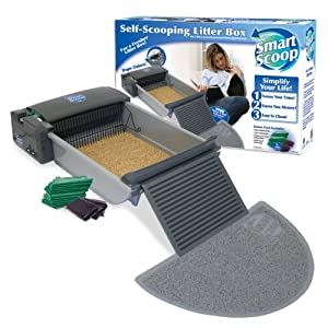 SmartScoop Self-Scooping LitterBox 1073211347