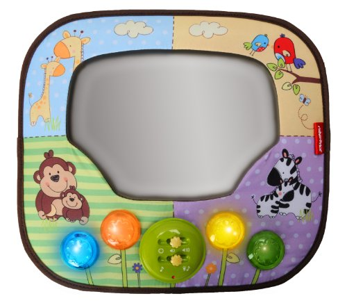 Lowest Prices! Fisher-Price Luv U Zoo Deluxe Auto Mirror Sounds and Lights