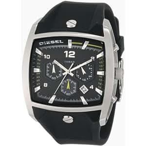 Diesel Herren-Armbanduhr HoneyComb Chronograph Quarz Silikon DZ4165