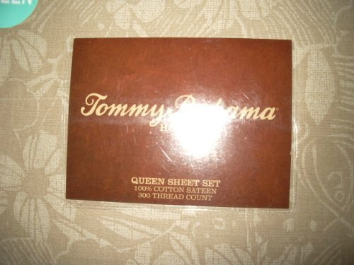 Tommy Bahama Queen Sheet Set Island Sand front-1023815