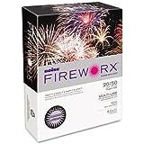 Boise Fireworx Color Copy/Laser Paper, 20 lb, Letter Size (8.5 x 11), Echo Orchid, 500 Sheets (MP2201-OR)