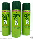 **ORIGINAL**ORGANIC ROOT STIMULATOR -OLIVE OIL SHEEN SPRAY ***3 PCS DEAL***
