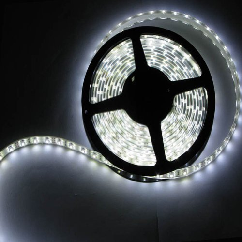 Generic 12/24V 32.8Ft 10M Silicone Waterproof Smd5050 60Leds Flexible Led Light Strip High Quality Warm White