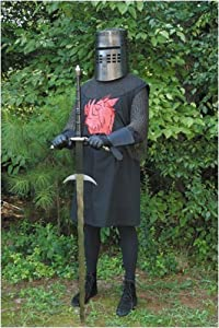Black Knight Tunic Officially Licensed Monty Python and the Holy Grail (L/XL)