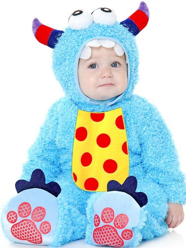 Charades Infant Toddler Baby Blue Monster Halloween Costume