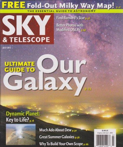 Sky & Telescope Magazine July 2013