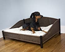 "Hot Sale Decorative Rhino-Wicker Pet Bed - Large (47"" x 34"" x 18"")"