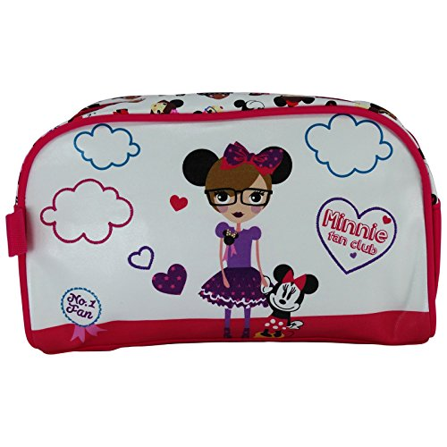Disney Minnie Fan Club Beauty Case Astuccio Trucco Make Up Pochette