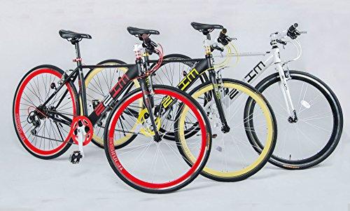 ) 700C クロスバイク 自転車 ...